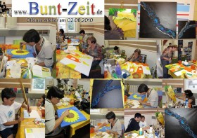 Offenes Atelier Collage