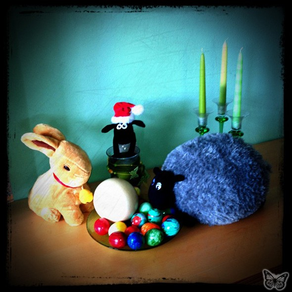 Frohe Ostern - Ohwei! - 2012