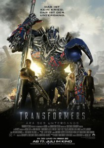 Transformers 4 Kinoposter