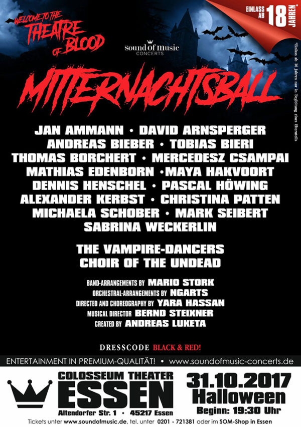 2017 Mitternachtsball - The Theatre of Blood